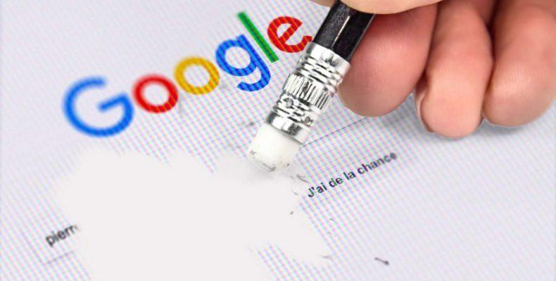 Droit à l'oubli, déréférencement et supprimer un contenu en ligne